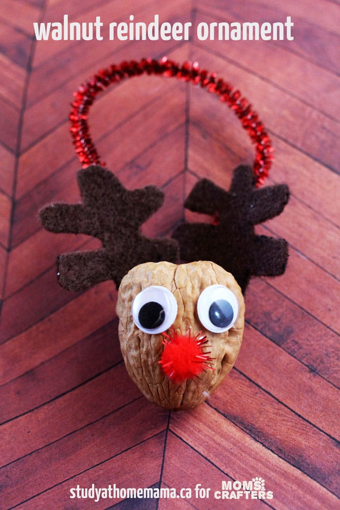 Easy Preschool Christmas Ornament Crafts