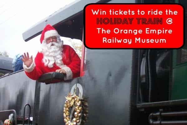 Embark on a magical holiday train ride and visit with Santa at his North Pole workshop at the Orange Empire Railway Museum in Perris, CA. Tickets on sale now!