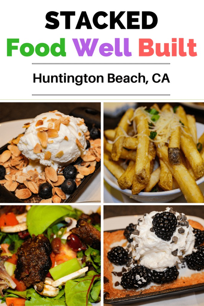 Looking for a new restaurant to try in Orange County? Check out Stacked in Huntington Beach where all of their menu items, including their desserts, are fully customizable to your liking.
