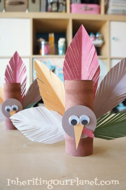 25 easy thanksgiving crafts for kids socal field trips for Toilet paper roll crafts thanksgiving