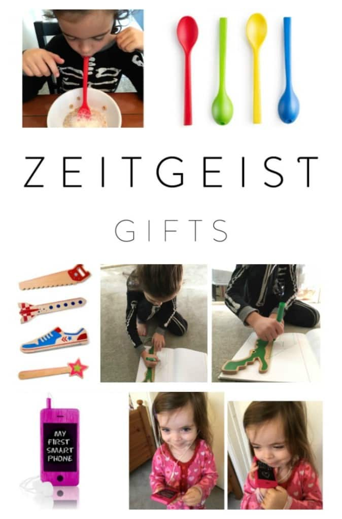 Zeitgeist Gifts offer affordable, original and educational gifts for the entire family. Since the founder of the company, Julia, is from Germany, you will find a European flare to all of Zeitgeist Gifts line of products. Furthermore, their toy line includes 100% natural wooden electronics, smart phones, tablets and computers that children can play pretend with.