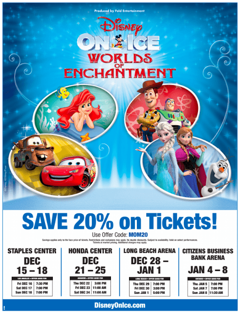 Disney On Ice is a theatrical production that brings all your favorite Disney characters and stories to life via the artistic skills of ice skaters. You can check show times, locations and ticket prices on the official website as well as play games and do other activities for free. Coupons and discount offers on Disney On Ice tickets can be found at skillfulnep.tk