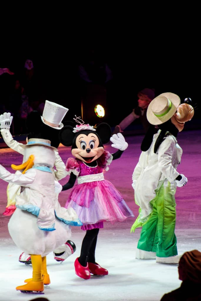 Disney on Ice is an action-packed ice spectacular that showcases beloved characters from Disney•Pixar's Cars, Toy Story 3, Disney's The Little Mermaid plus the enchanting Academy Award®-winning Frozen.