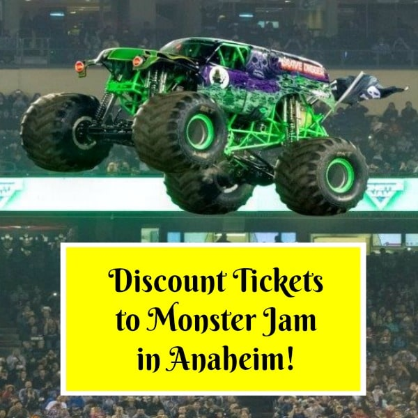 Monster Jam, celebrating 25 years of car-crushing, dirt-flying action, the infamous 2,000 horsepower engines, are revving up again and ready to roar full throttle back into Anaheim, California this January! Get discount tickets to Monster Jam in Anaheim here!