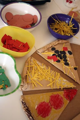 Are you looking for a fun pizza inspired craft or activity for kids? Check out this list of 18 Playful Pizza Activities for Kids that are perfect for children of all ages! These activities help kids work on many important skills such as eye-hand coordination, fine motor tasks, addition and subtraction, and using their imagination, just to name a few.Are you looking for a fun pizza inspired craft or activity for kids? Check out this list of 18 Playful Pizza Activities for Kids that are perfect for children of all ages! These activities help kids work on many important skills such as eye-hand coordination, fine motor tasks, addition and subtraction, and using their imagination, just to name a few.