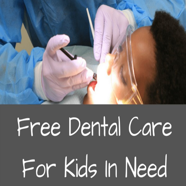 Does your child need free dental care? Check out Give Kids a Smile! Give Kids a Smile has been around for 15 years and has more than half a million volunteers who give their time and talents to provide oral health services to children. Complimetary services including education, screening, preventive care, and dental treatment for kids who otherwise might not be able to affford them.