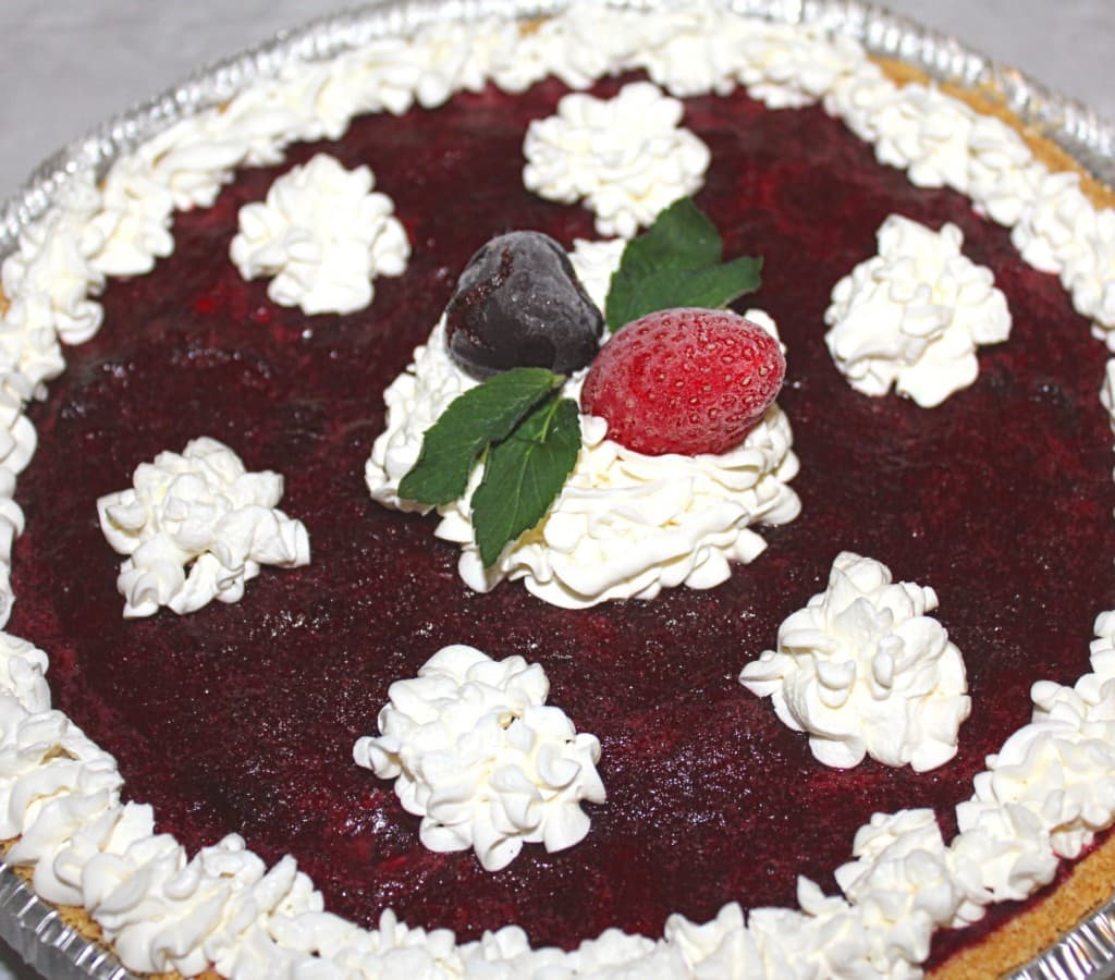 Baking a homemade pie requires a lot of time and energy. However, with this Easy Frozen Berry Pie Recipe with Step-by-Step Directions, you save yourself over 2 hours in the kitchen and enjoy eating pie the instead!