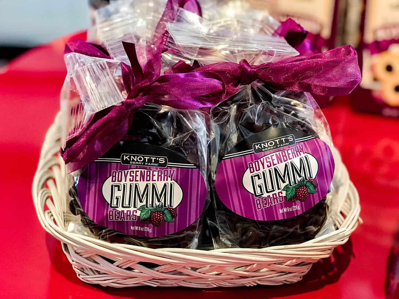 Boysenberry Gummie Bears at Knott's Boysenberry Festival