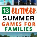 13 Outdoor Summer Games that families can play together