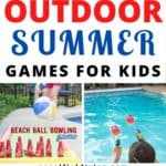 A list of 13 outdoor summer games that families can do together
