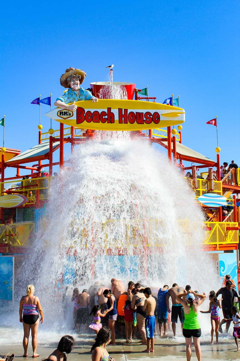 Visit the newly updated Knott's Soak City in Buena Park, California! The entire waterpark been beautifully remodeled to include 7 new waterslides, an expanded food area and much more needed shade. It is the perfect place to spend the summer relaxing outdoors with your family! You can get discount tickets to Knott's Soak City right here!