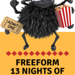 Freeform 13 Nights of Halloween TV Schedule includes likes of Edward Scissorhands,The Addams Family, The Nightmare Before Christmas and Monsters, Inc.