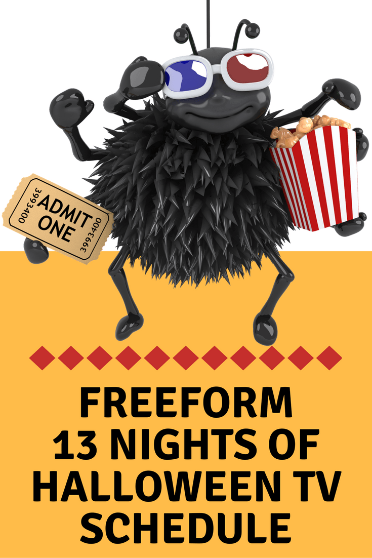 Freeform 13 Nights of Halloween TV Schedule includes likes of Edward Scissorhands, The Addams Family, The Nightmare Before Christmas and Monsters, Inc.