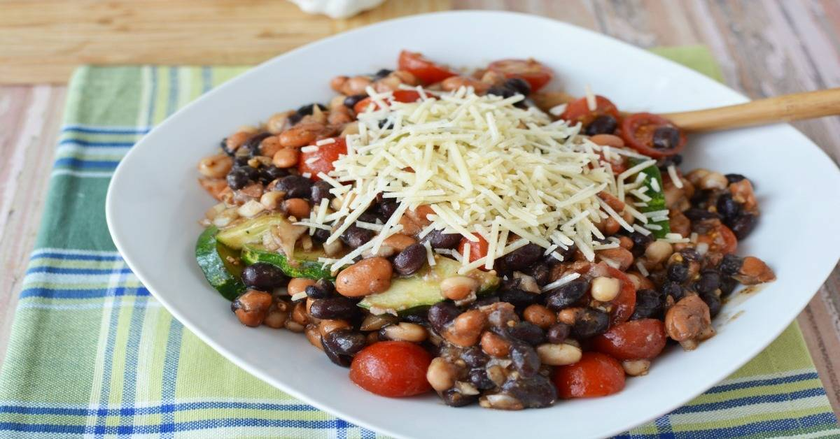 Easy Cold Bean Salad For Game Day Socal Field Trips