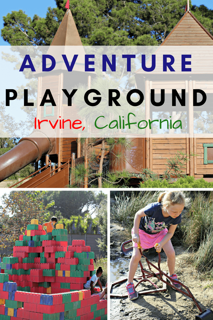 The Adventure Playground in Irvine, California is one of only 3 unstructured playgrounds in the United States. Unstructured play is essential to every child's development. The Adventure Playground allows kids to build forts, play in the mud, and get creative with unstructured play outdoors. Open everyday from 10 am till dusk.