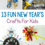 To help your family ring in the New Year, check out this list of13 Fun New Year's Crafts For Kids! All you need are a few supplies to create lasting memories together.