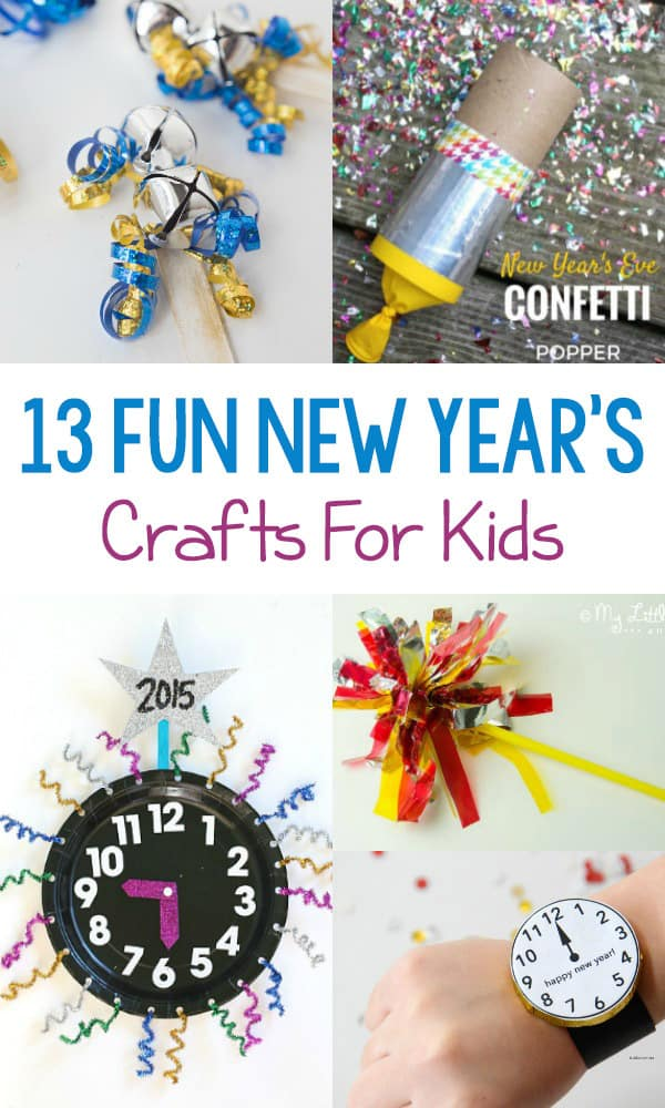 To help your family ring in the New Year, check out this list of 13 Fun New Year's Crafts For Kids! All you need are a few supplies to create lasting memories together.