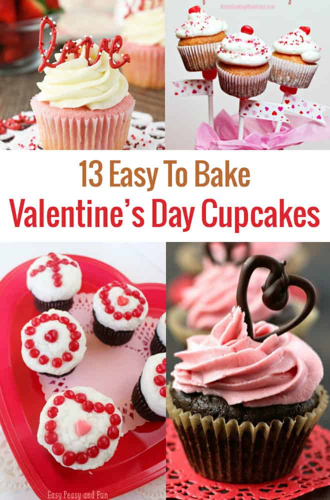 are you looking for an easy to make valentines day cupcake recipe for a party