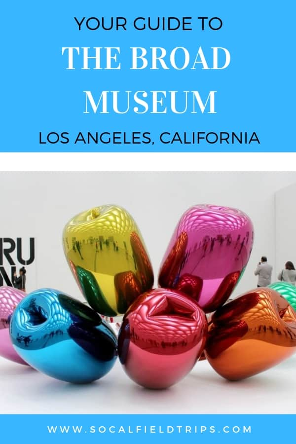 Do you enjoy contemporary artwork? Visit The Broad in Los Angeles which is home to more than 2,000 works of art. Learn how to get free Broad Museum Tickets by clicking the link.