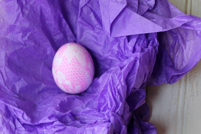 pretty easter egg decoration