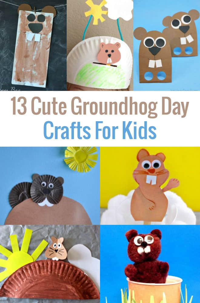 Fun Kids Crafts for Groundhog Day