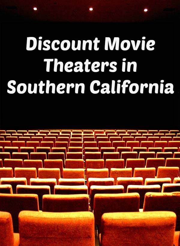Are you looking for an inexpensive activity to do with your kids? Several movie theaters across Southern California offer discount admission starting at only $1.75 per person. Check it out!