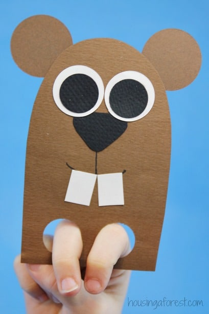 Groundhog Day Hand Puppet