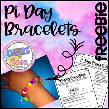 Pi day bracelets