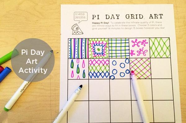 Pi Day art