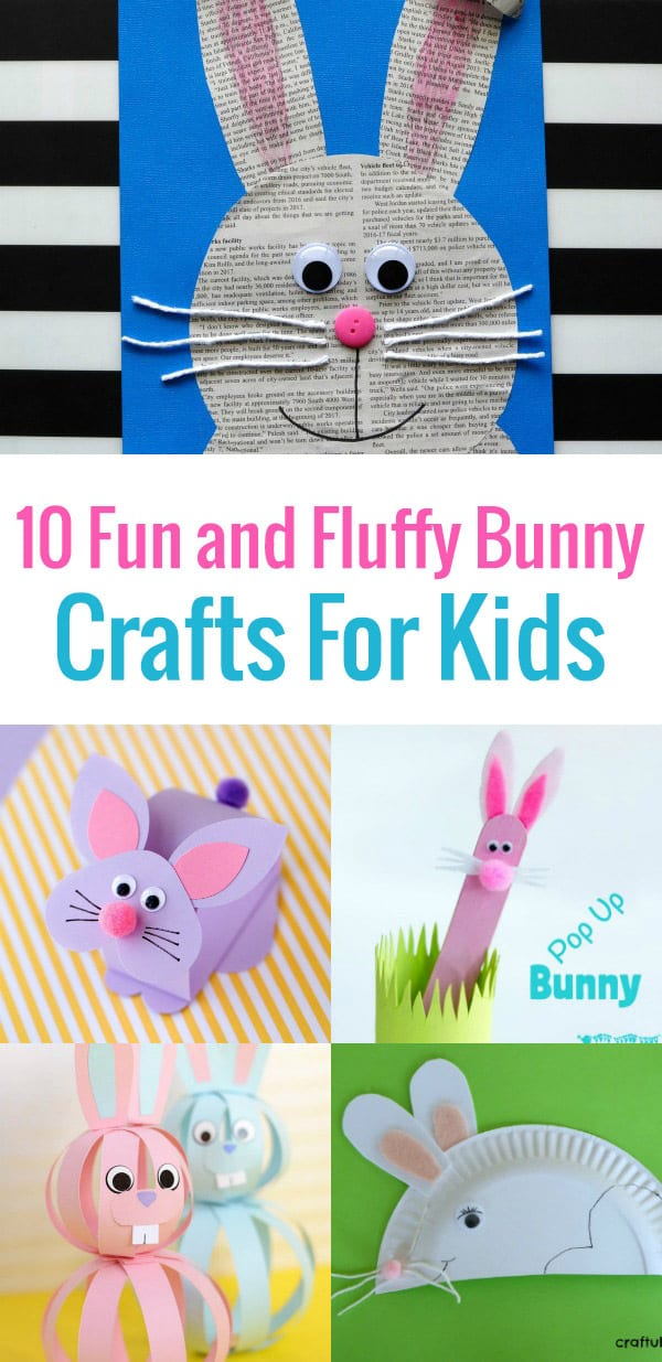 Are you looking for a Cute and Easy Easter Craft For Kids? I'm sure you'll enjoy browsing through this post, which is bursting with Easter craft ideas from cute bunny behinds to adorable paper plate rabbit crafts to 3D bunny crafts and more.