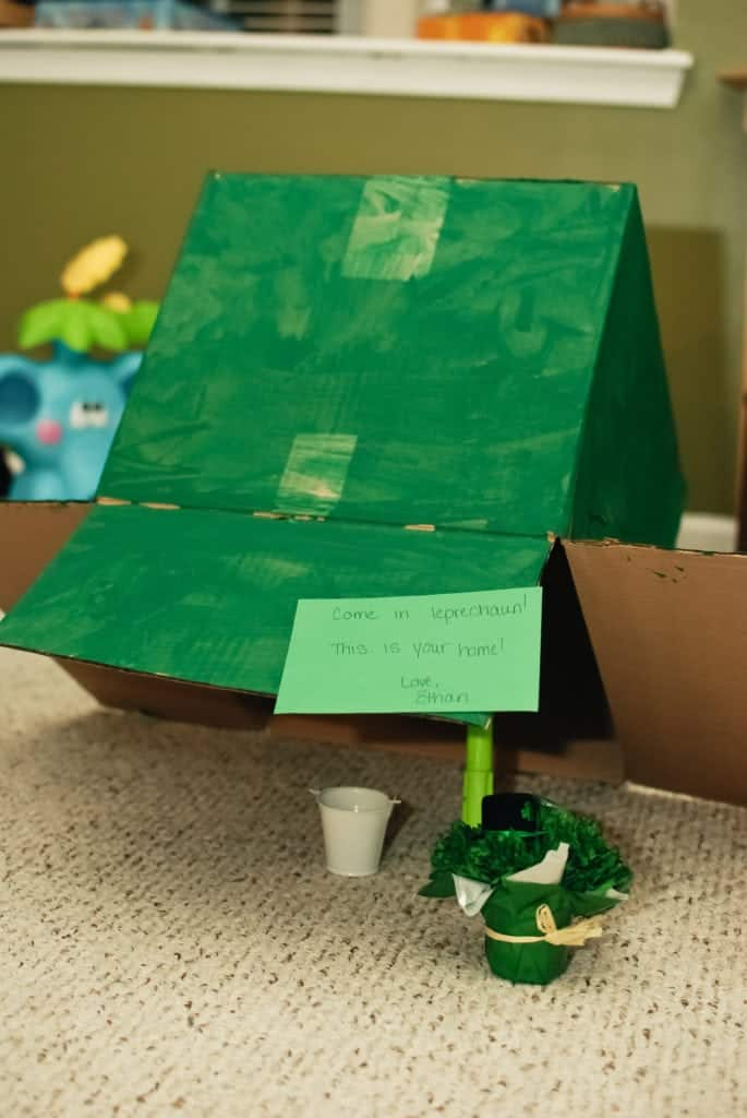 How To Make a Cardboard Box Leprechaun Trap