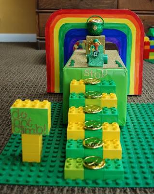 easy lego leprechaun trap
