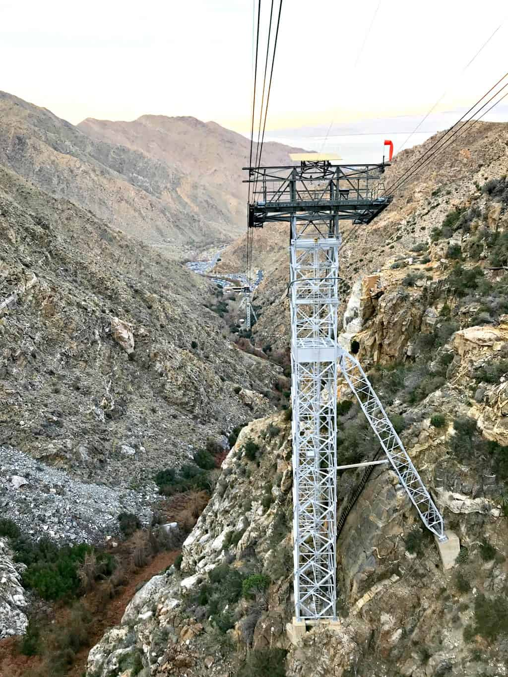 Taking a ride on the Palm Springs Aerial Tram