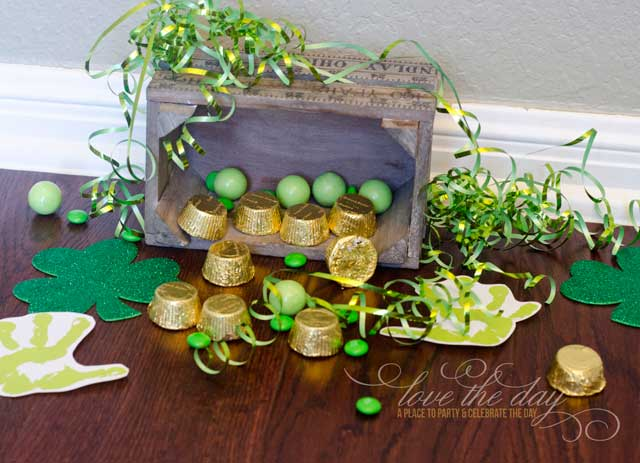 Easy St. Patricks Day Craft for Preschoolers