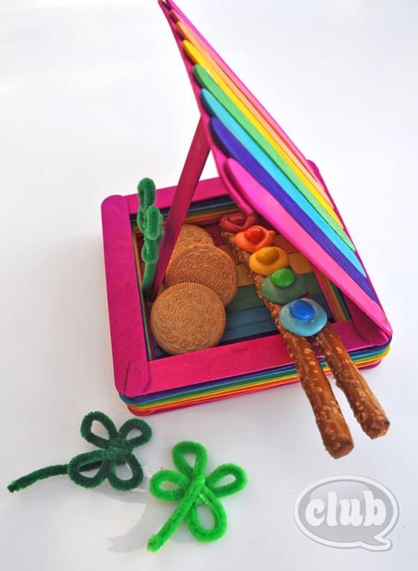 rainbow leprechaun trap