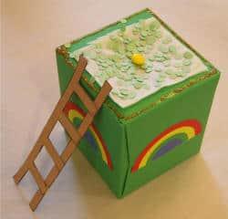 upcycled leprechaun trap