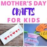 Looking for that perfect Mother's Day gift? Check out these 25 pretty Mother's Day Crafts for Kids! They are also great crafts and gifts to make as Christmas and birthday presents for women.