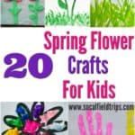 Homemade gifts for the best Mother's Day presents you could ever make! With limited supplies and in only 30 minutes, you can easily make anyone of these 20 Mother's Day Flower Crafts For Kids!