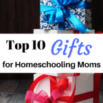 Here is a list of the Top 10 Best Gifts For Homeschooling Moms that are ideal for any occasion including Mother's Day, Christmas and birthdays.