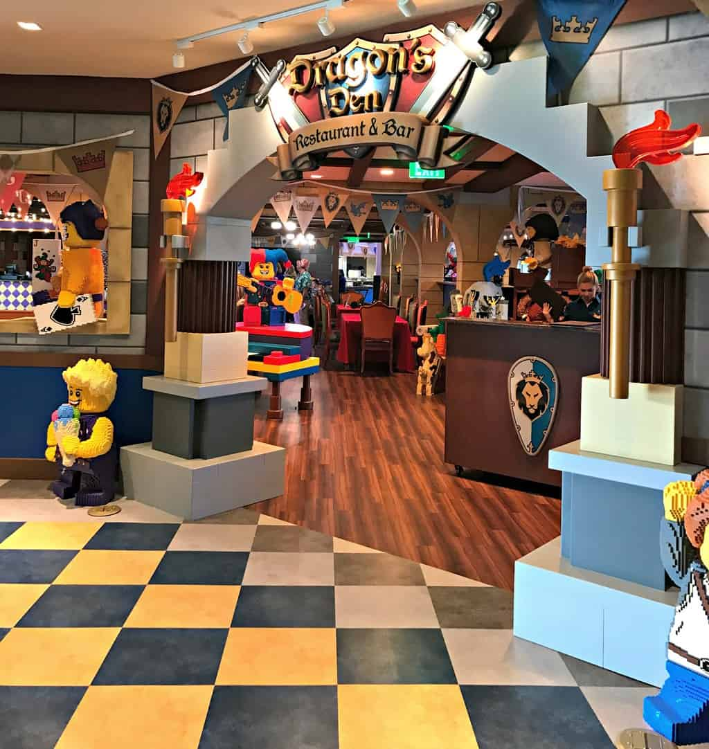 Dragon's Den Restaurant at LEGOLAND Castle Hotel in Carlsbad