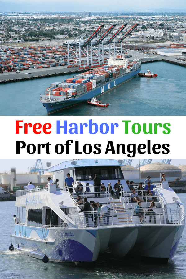 The Port of Los Angeles invites you to expand your knowledge of the world around you, and learn about the history and activities at Los Angeles Harbor by taking a free one-hour boat tour. The Port of Los Angeles is a premier international Port, the #1 container port in the nation, a leader in environmental initiatives and home to diverse recreational and educational facilities.
