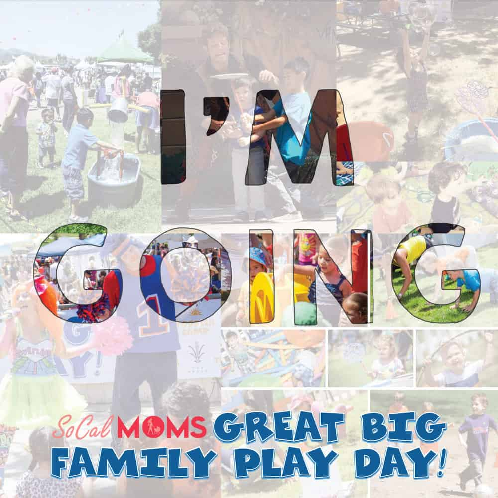 Celebrate the end of the school year and the start of summer by attending SoCalMoms Great Big Family Play Day on Sunday, June 10 at The Autry in historic Griffith Park.  It's a family experience unlike any other in Los Angeles!