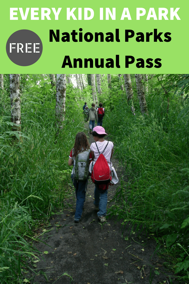 "Is your child in 4th grade? Learn how to sign up for a free ""Every Kid in a Park"" National Parks Pass. The pass is good for your entire family to get into over 2,000 United States federal recreation sites for free."