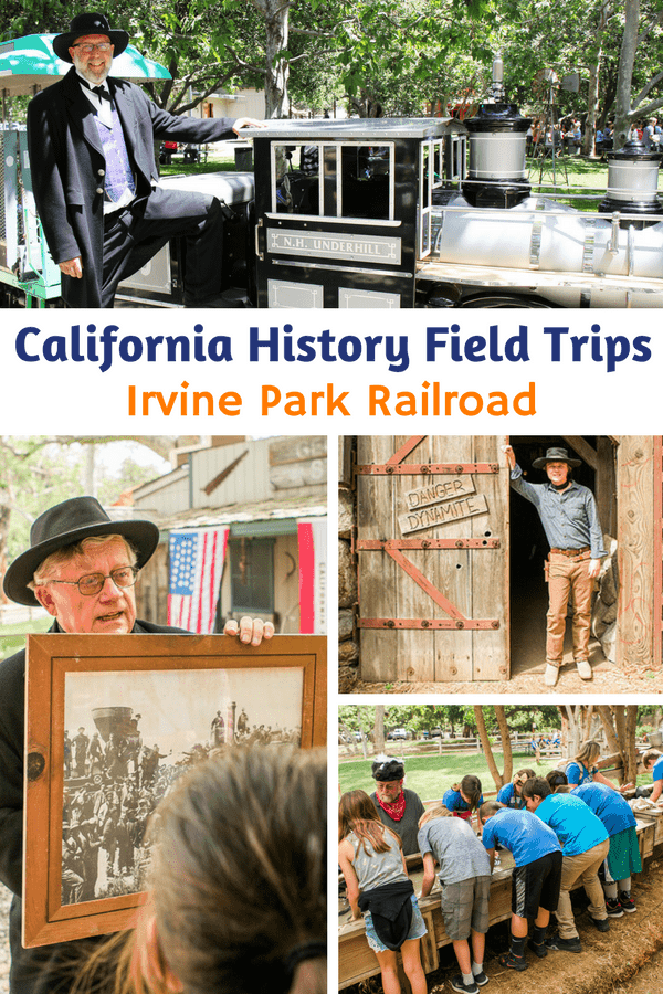 Homeschool Day Irvine Park Railroad