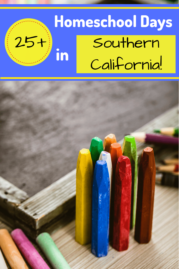 A unique part of homeschooling is the ability to go out into the community and learn first-hand about a specific subject that you are passionate about.  Whether you live in a small town or a big city, there are many opportunities for children of all ages to explore and learn. To get you started, here's a list of 25+ Homeschool Days in Southern California to help you plan your next adventure!