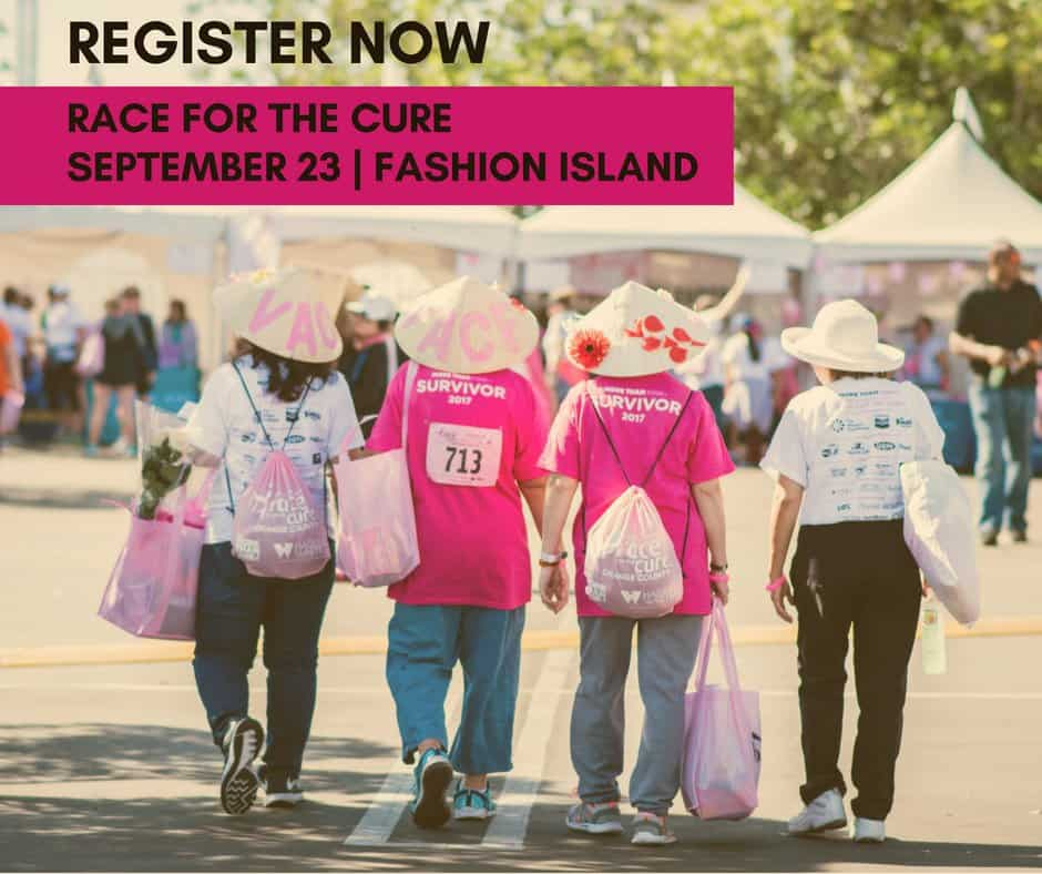 Sign up to join the Valpak Team for the 2018 Susan G. Komen Orange County Race for the Cure on Sunday, Sept. 23 in Newport Beach!