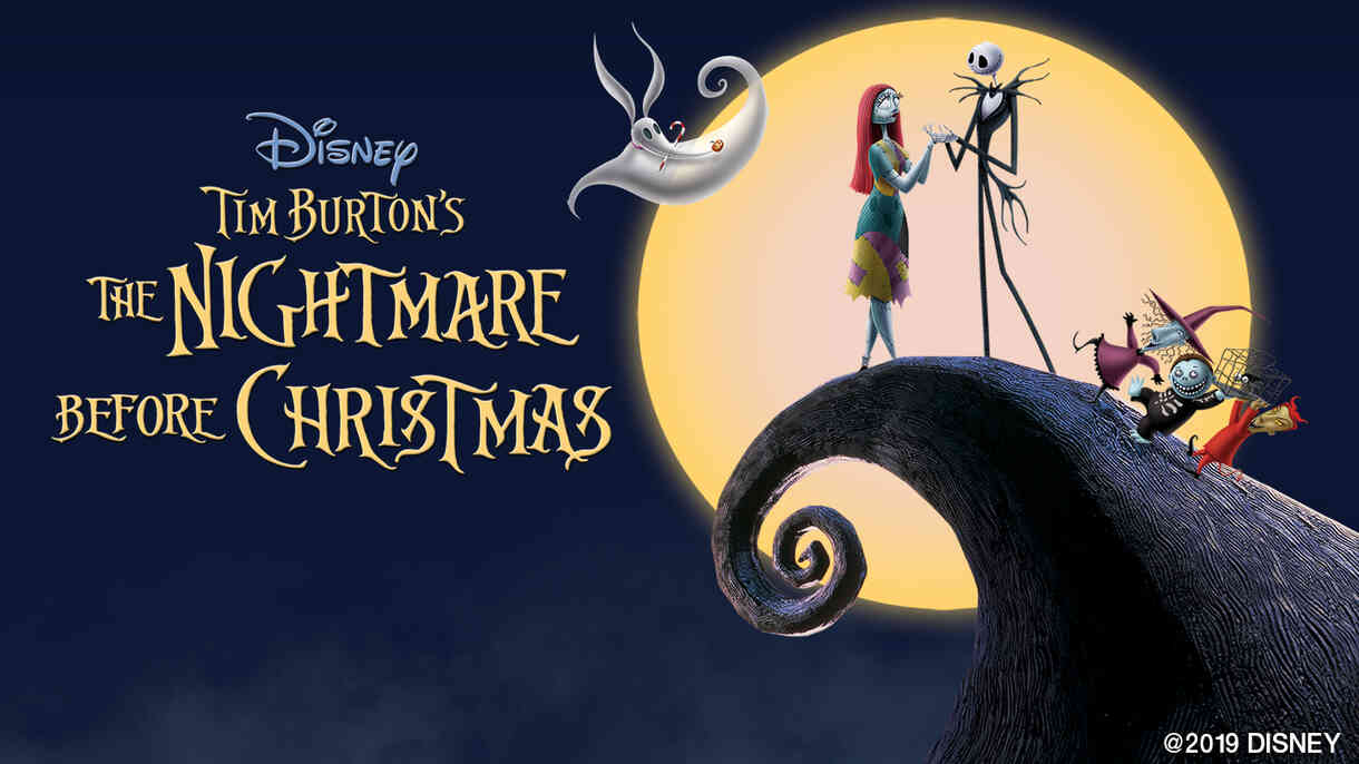 The Nightmare Before Christmas El Capitan Hollywood