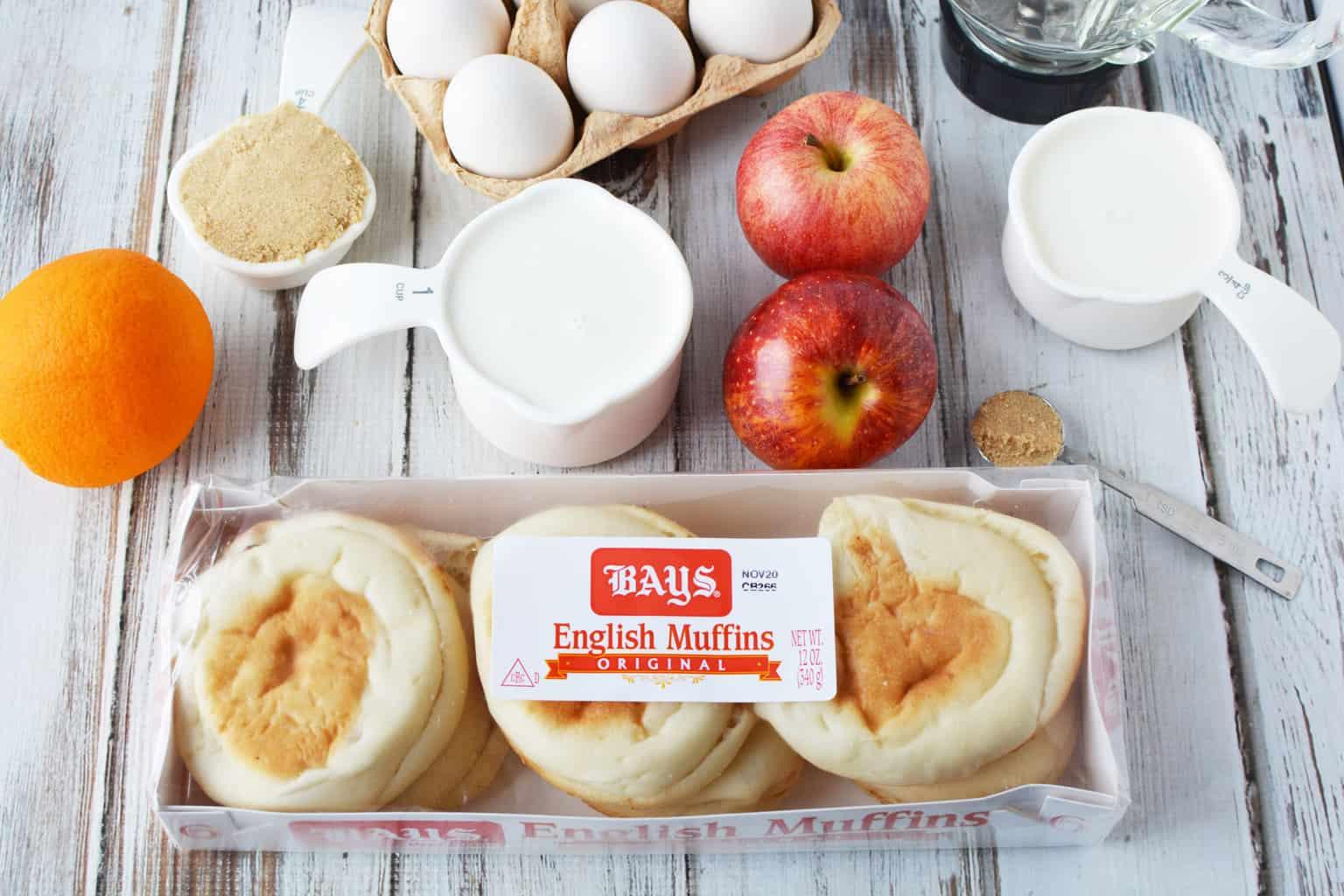 Baked Apple Cinnamon Skillet French Toast Recipe