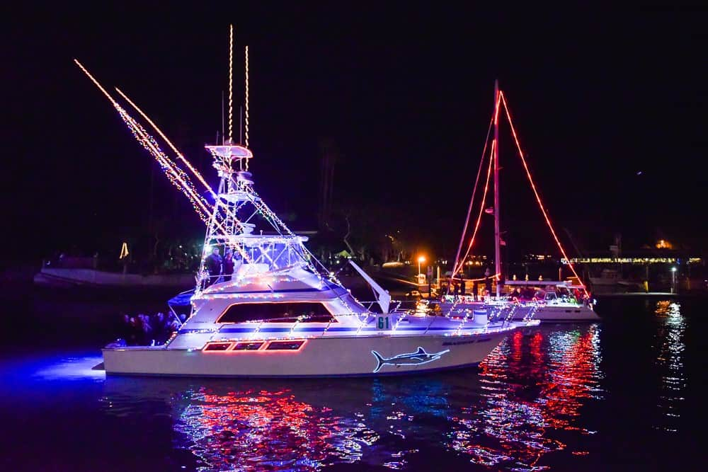 Dana Point Harbor Holiday Boat Parade