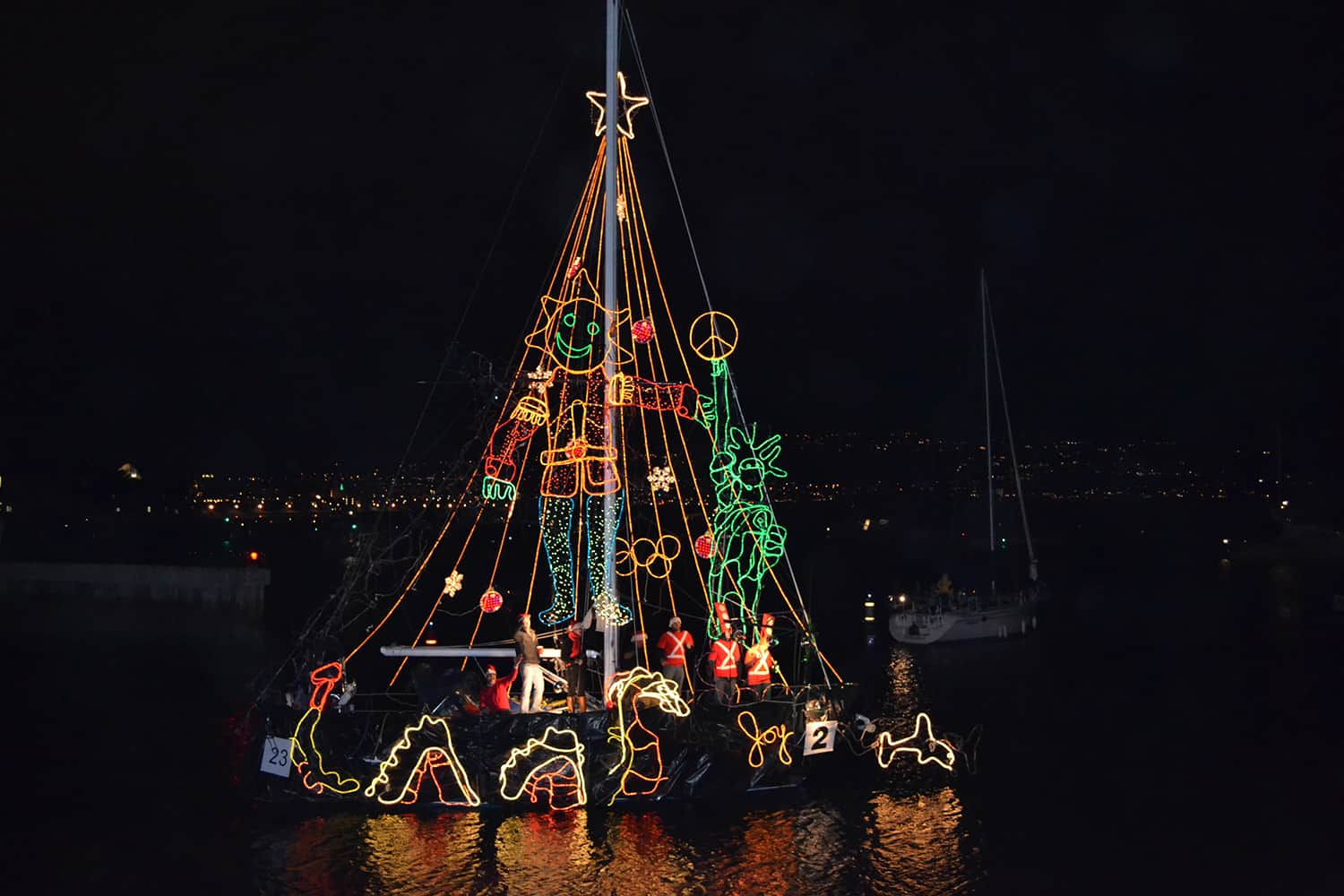 Redondo Beach Holiday Boat Parade